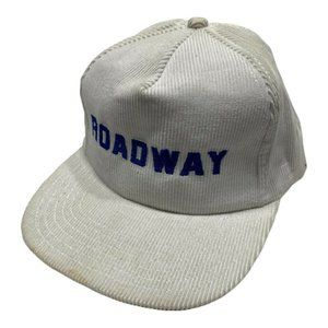 Vintage 80s ROADWAY Trucking Company Logo Hat